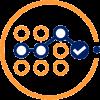 Assess Icon -Orange