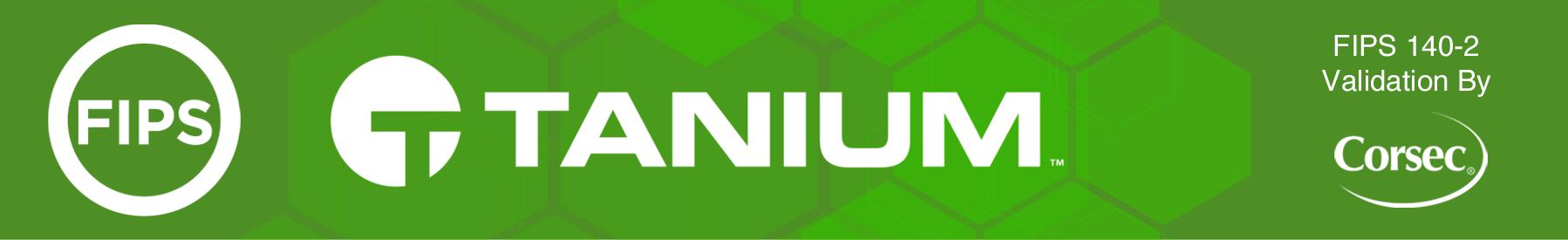 Tanium FIPS Banner